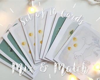 Set of 10 Christmas Cards