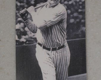 babe ruth 1920's red cross card