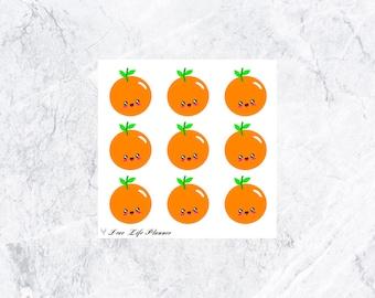 Happy Orange | Functional | Stickers