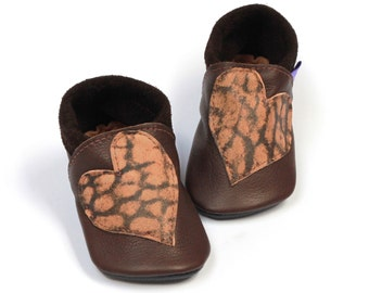 SALE Leather toddler shoes prewalkers Reclaimed leather Ready to ship First birthday moccasins