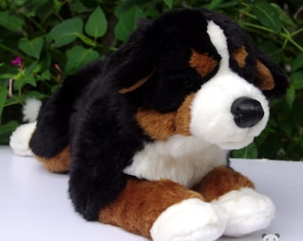 Bernese Mountain Dog Stuffed Animal Plush Toy