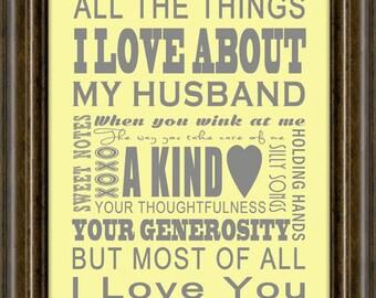 Gift For Him - Husband - Boyfriend - Personalized  Gift - Gifts For Him - Gifts For Her - Anniversary Gift - Love Gift - Wedding Gift