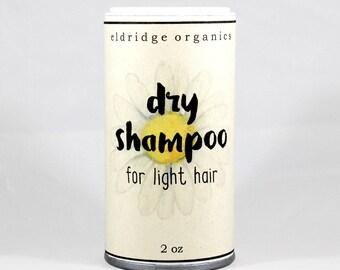 Organic Dry Shampoo For Light Hair