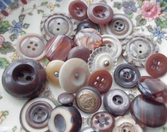 Vintage Button Collection