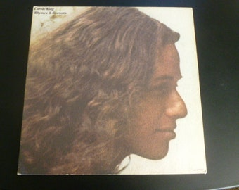 Carole King Rhymes & Reasons Vinyl Record LP SP-77032 ODE Records 1972