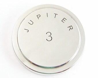LENS CAP Metal Russian Soviet JUPITER 3 D42 white