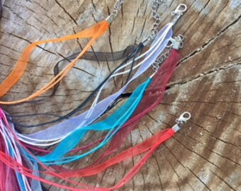Ribbon Necklace cords