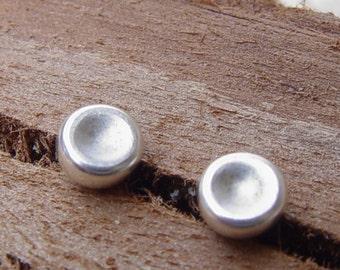 Sterling Silver Studs, Silver Stud Earring, Medium (5mm) Sterling Silver Stud Earrings, Silver Post Earrings, Silver Studs Earrings