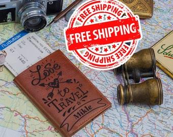 Passport wallet leather passport wallet passport holder travel wallet passport case passport cover leather passport leather wallet leather
