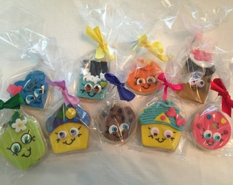 Cookie Favors - Shopkin Themed