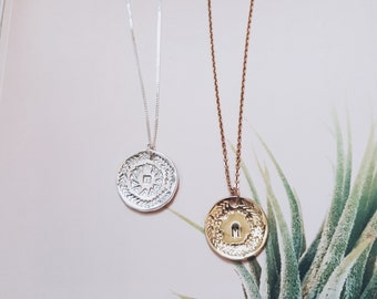 Amulet Necklace Gold & Silver
