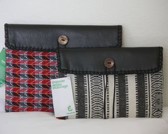 SALE** iPad Case / Handheld Clutch: Haushala Women's Cooperative, Made in Nepal
