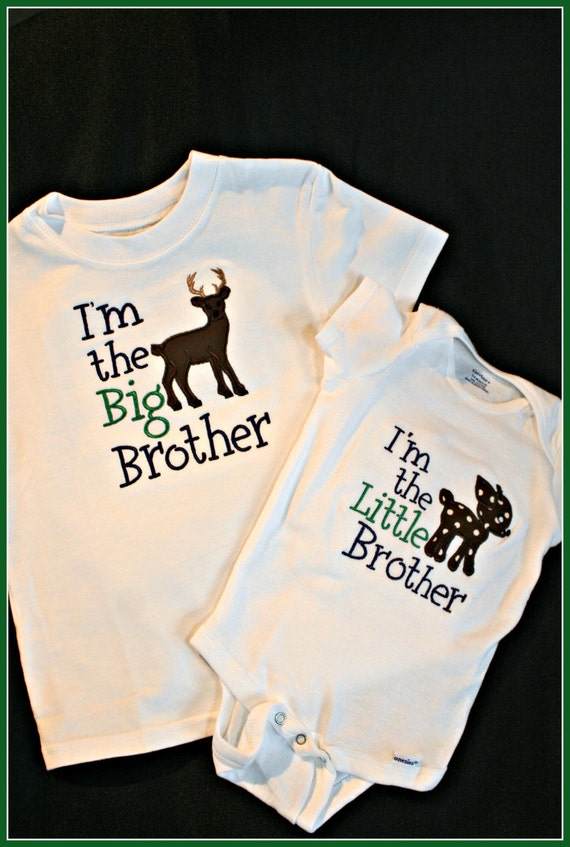Custom Big Brother/Little Brother or Big Sister/Little Sister Shirts