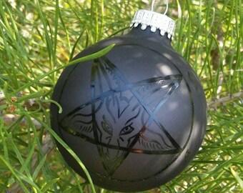 Merry Sigil of Baphomet Ornament