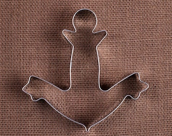 Anchor Cookie Cutter, Nautical Cookie Cutters, Wedding Cookie Cutters, Large Cookie Cutters, Sugar Cookie Cutters, Anchor Biscuit Cutter