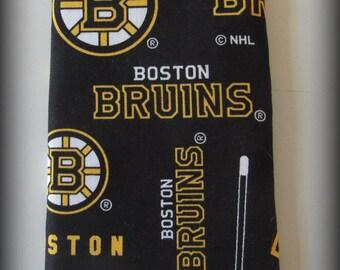 Eyeglass case - sunglasses case - glasses case - Hockey glasses case - Bruins Hockey glasses case - Bruins glasses case - Boston Bruins case