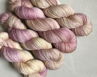 Glitzy Sock 'Wilted' Hand Dyed Yarn