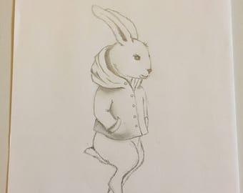 Bunny, Bunny, hare with Hoody