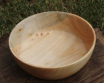 Maple Hand Turned Bowl