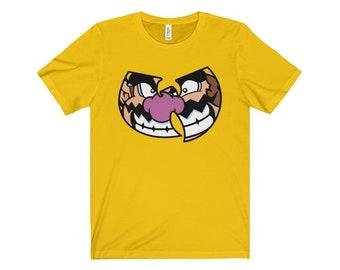 Men's Wario/Wu-Tang Clan T-Shirt - Wurio's World