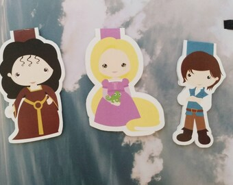 Tangled — magnetic bookmarks
