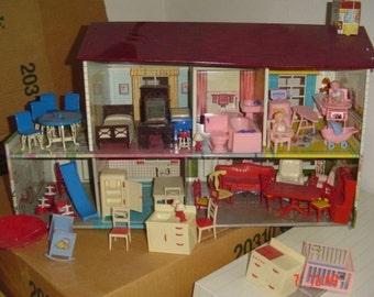 metal dollhouse renwal acme furniture