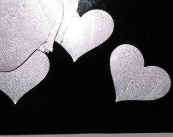 Shiny Heart Stickers