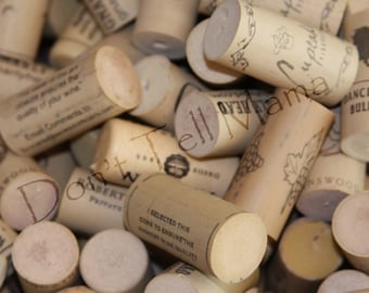 Synthetic Cork SALE--- 25% Off 200 Synthetic Used Wine Corks for Crafting Plus Reduced Shipping to US Zip Codes!