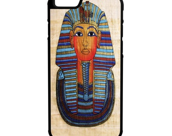 Egyptian Pharaoh iPhone Galaxy Note HTC LG Hybrid Rubber Protective Case
