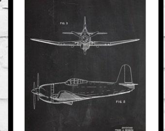 Airplane Patent, Airplane Decor, Airplane Art, Airplane Print, Aviation Decor, Airplane Patent, Aviation Art, Aviation Art, Pilot Gift