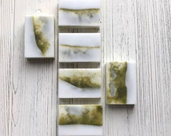 Matcha Triple butter soap
