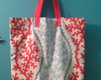 Grocery bag, tote, book bag, market bag