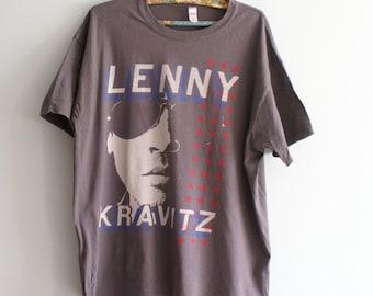 Lenny Kravitz T-shirt, Vintage Lenny Kravitz t-shirt, Lenny Kravitz shirt, Festival clothing, Lenny Kravitz