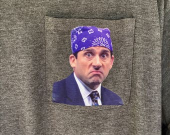 The Office - Prison Mike - Pocket Shirt