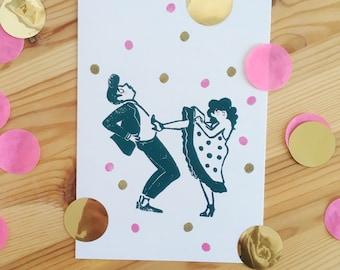 """Card """"Confetti"""""""