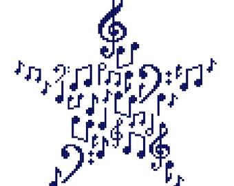 Ragtime Stitches - Night Music (monochrome)