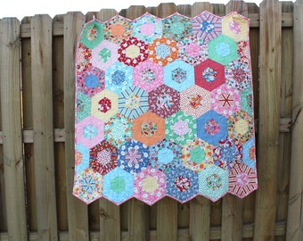 Quilts for Sale / Baby Girl Quilt / Vintage Style Quilt / Quilts / Quilts for Sale / Girl Quilt /  Custom Quilt / MADE TO ORDER