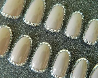 Oval False Nails