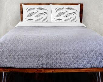 Feathers Pillowcase Set