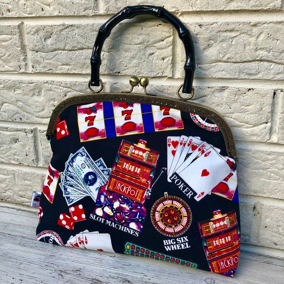 Casino  Handbag Rockabilly Pinup 1950's Inspired