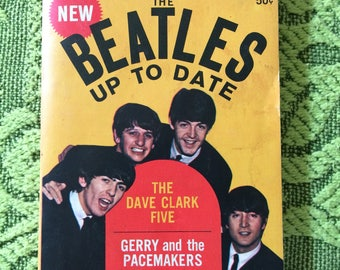 The Beatles up to Date 1964 paberback book
