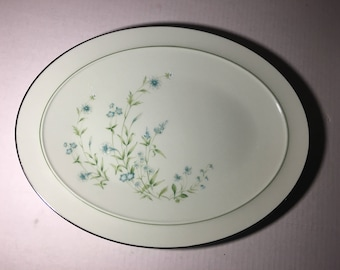 Large  Noritake China Serving Platter CHERISH #8222 Japan