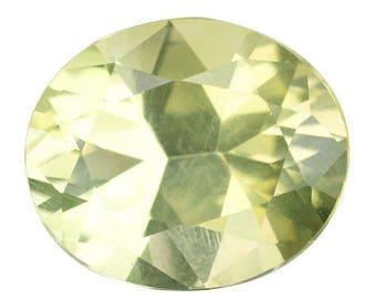 4.250CTS ultra rare yellow natural feldsper ( orthoclase ) loose gems