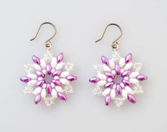 First Spring Snowflake Earring