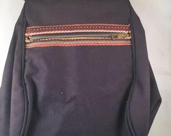 Unique Vintage 70's Canvas Shoulder Bag