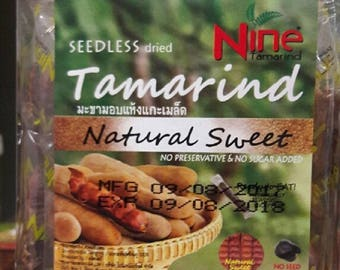 200 g. dried Tamarind Natural Sweet From thailand.