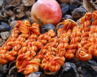 handdyed Yarn, 100g/ 3,5oz , colour Autumn