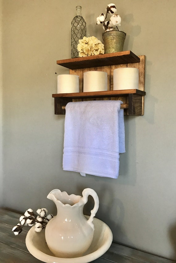 Rustic Style, Rustic Home decor, Farmhouse style, Farm House Towel Rack, Rustic, Country Style, Country Towel Rack, Rustic Bathroom