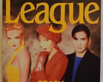 Vintage Gatefold Record The Human League: Crash Album SP-5129