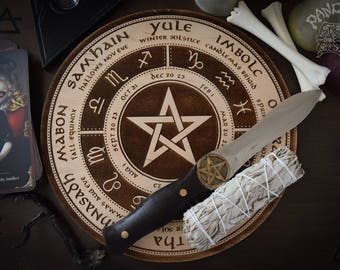 Wheel of the year, pentagram